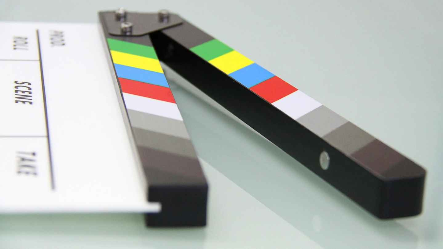 board cinema cinematography clapper board