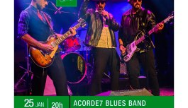 ACORDE7 BLUES BAND traz para o Teatro Sesc Centro de Goiânia-GO o seu novo Show