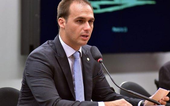 Eduardo Bolsonaro sobre prisão de Cesare Battisti