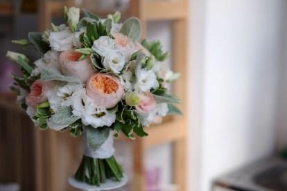 Нежный букет невесты