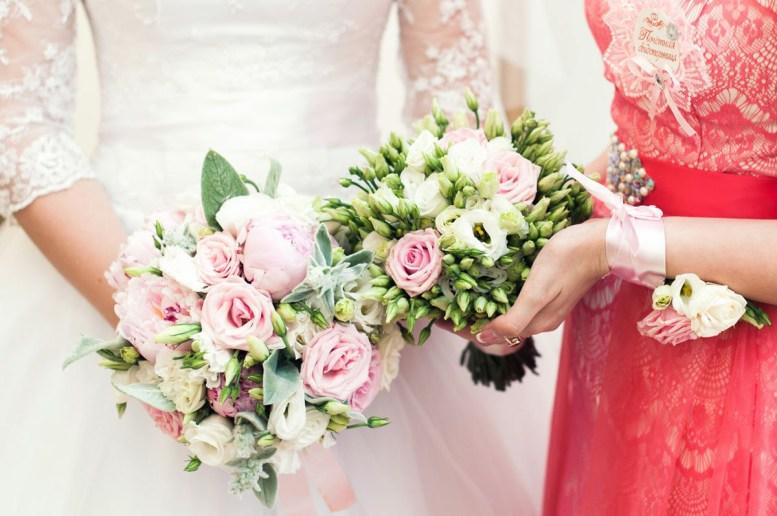 Букет для невесты и ее подружки