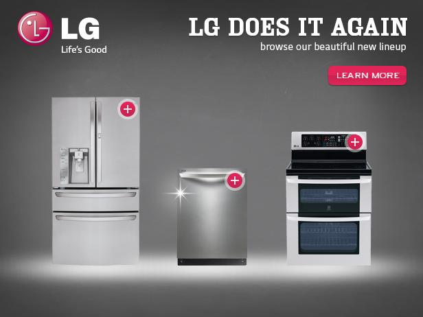 Lifes Good in the Kitchen with LG Home Appliances
