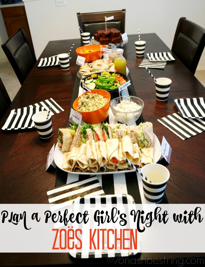 Perfect Girls Night Kitchen Catering Zoescaters