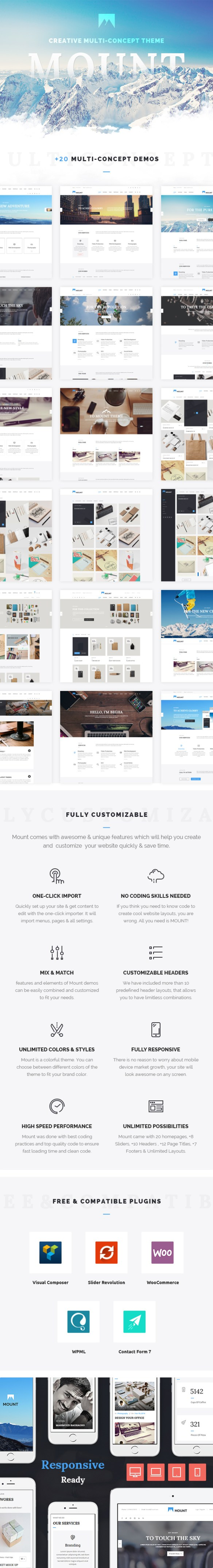 Creative, Multi purpose, Agency, Corporate, Business WordPress Theme
