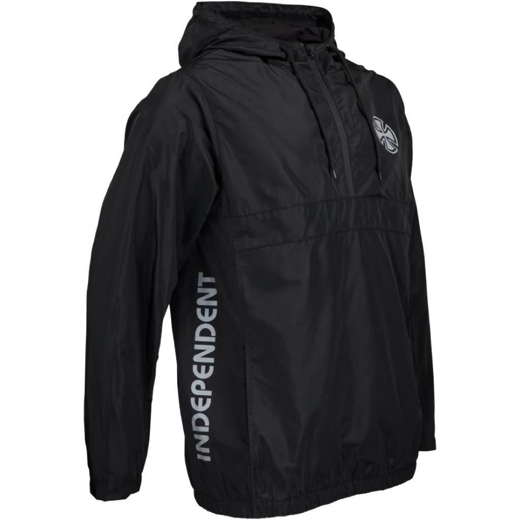Independent Jacket Dusk Anorak - Black