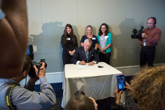 Brenau University governor Deal signs law