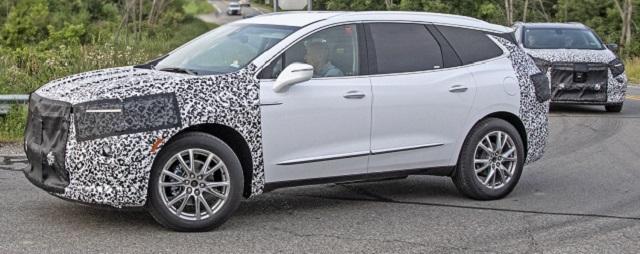 2021 Buick Enclave Changes