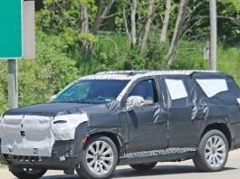 2021 Chevy Tahoe Spy Shot