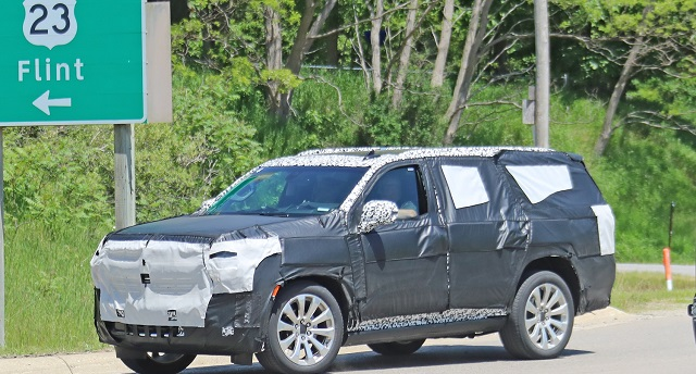 2021 Chevy Tahoe Spy Shot