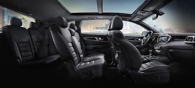 2021 Kia Sorento 7-seat interior
