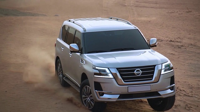 2021 Nissan Armada Facelift: Previewed By Updated Patrol ...