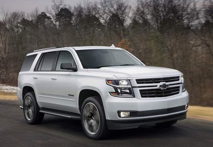 New Chevrolet Tahoe