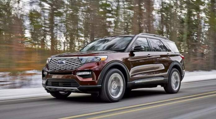 New Ford Explorer - 7-seater SUV