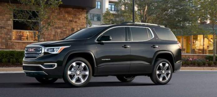 New GMC Acadia - 7-seater SUV