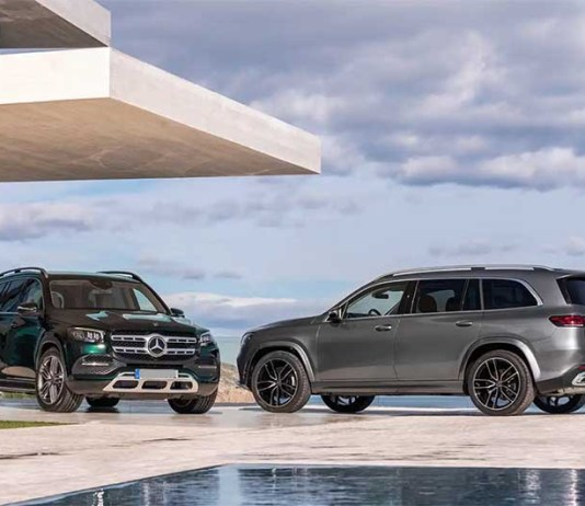 2020 Mercedes-Benz GLS changes