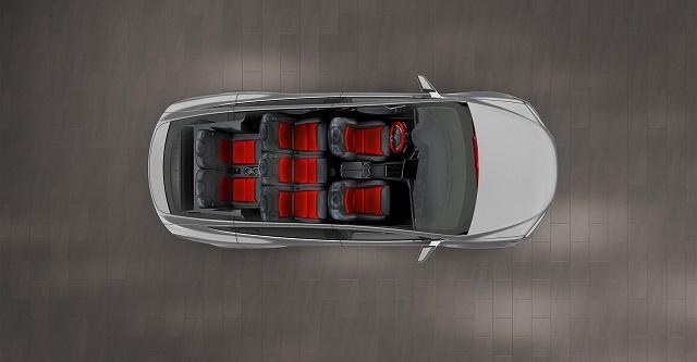2020 Tesla Model X interior 7-seat