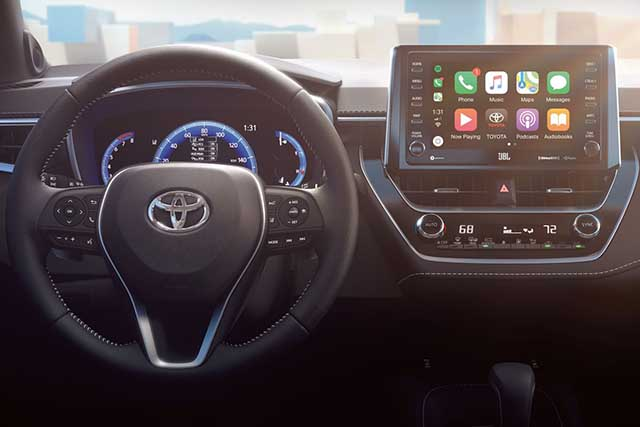 2020 Toyota Highlander apple carplay