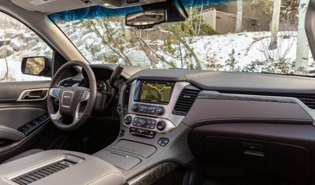 2020 GMC Yukon denali interior