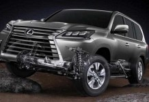 2020 Lexus LX changes