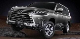 2020 Lexus LX changes