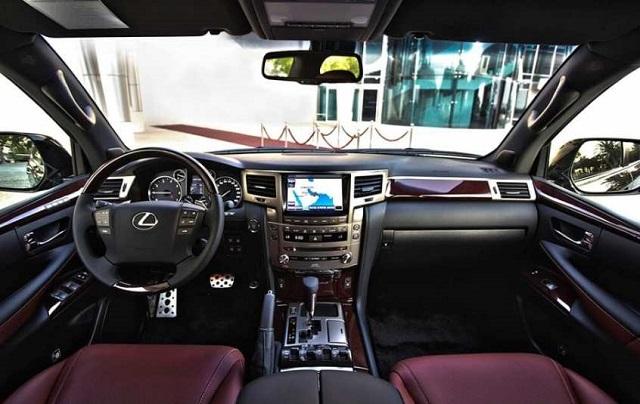 2020 Lexus LX interior