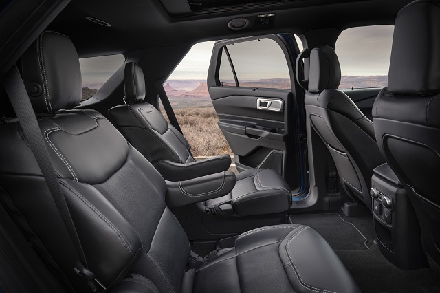 2020 Ford Expedition 7-seat Interior