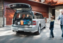 2020 ford flex cargo space