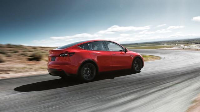 2020 Tesla Model Y range