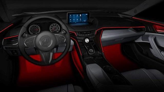 2021 Acura MDX interior leak