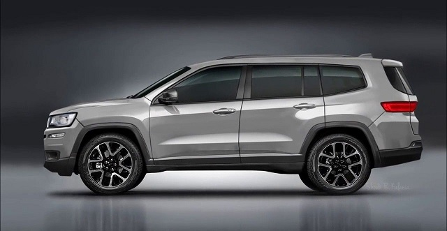 2021 Jeep Grand Cherokee 3rd Row Rendering Photo