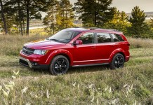 2020 Dodge Journey front view