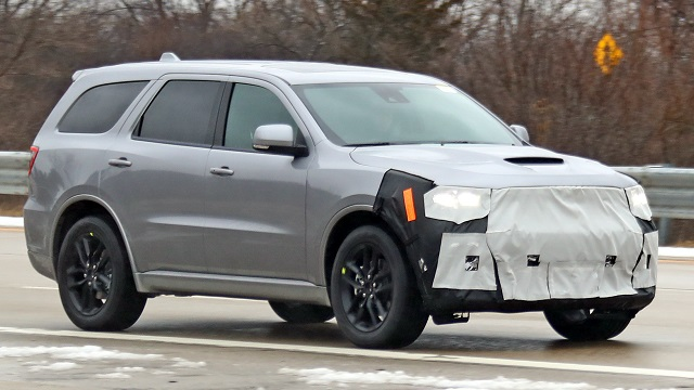 2021 Dodge Durango Facelift