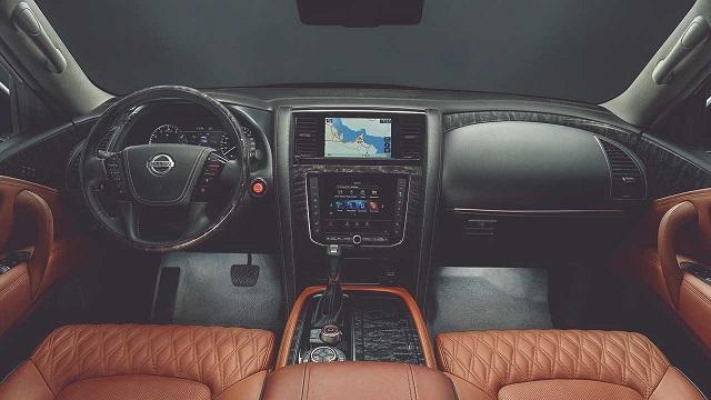 2021 Nissan Patrol Interior