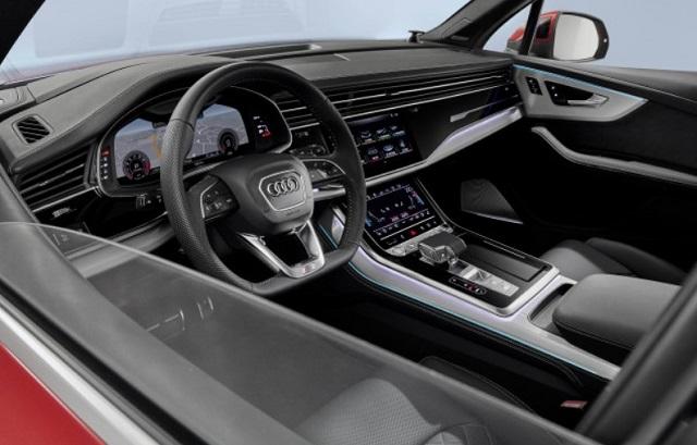 2021 Audi Q7 RS Interior
