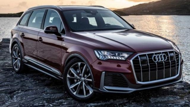 2021 Audi Q7 RS Render