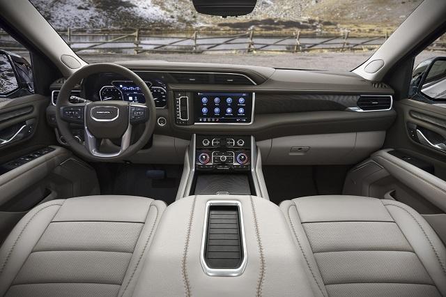 2021 GMC Yukon Denali Diesel Interior