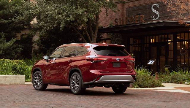 2021 Toyota Highlander Hybrid price