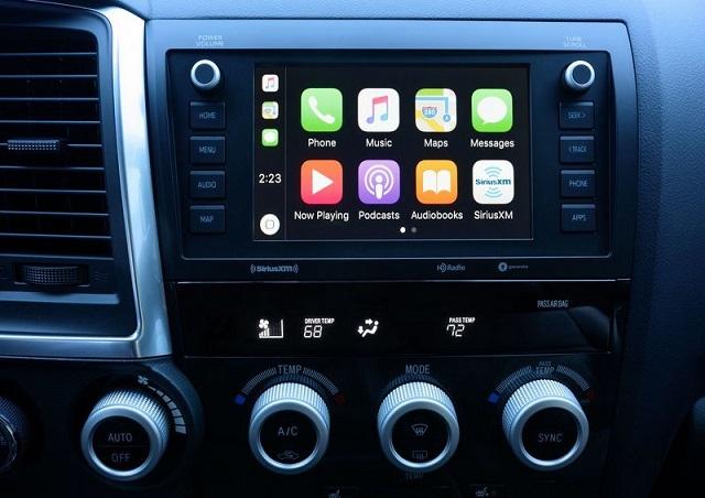 2021 Toyota Sequoia TRD Pro Infotainment