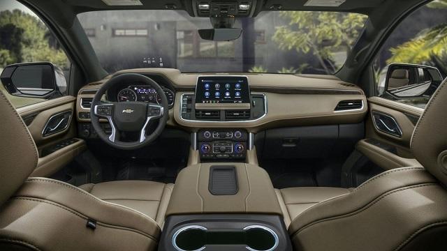 2021 Chevy Suburban Z71 Interior