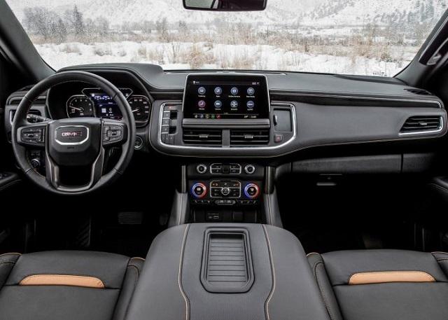 2021 GMC Yukon AT4 Interior