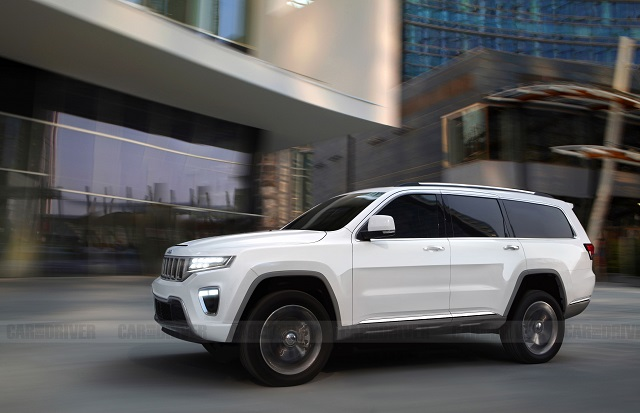 2022 Jeep Wagoneer Rendering