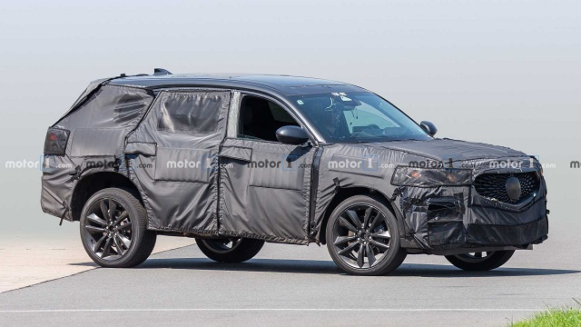 2022 Acura MDX Spy Shot