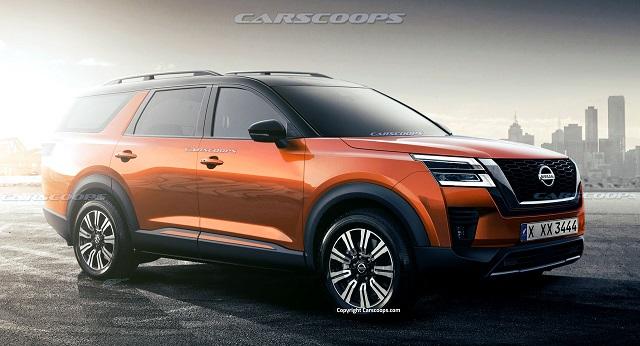 2022 Nissan Pathfinder Rendering photo