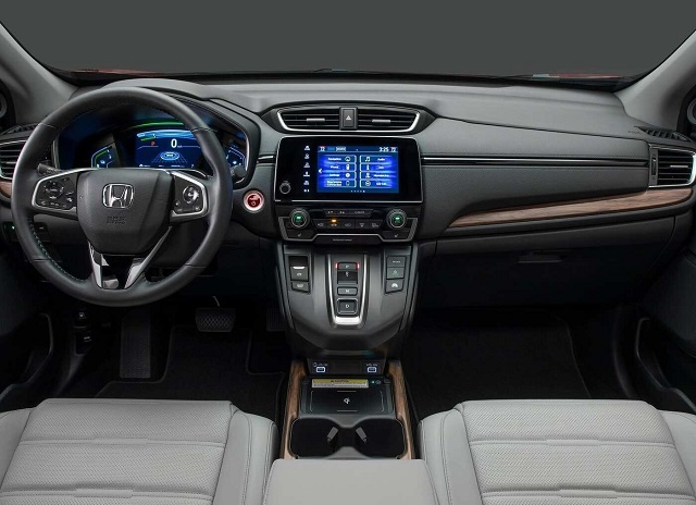 2022 Honda CR-V 7-Seater dashboard