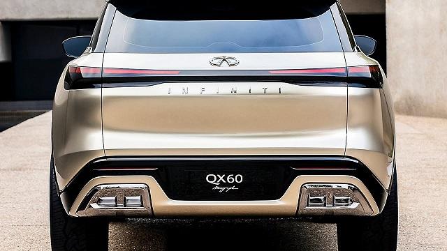 2022 Infiniti QX60 rear