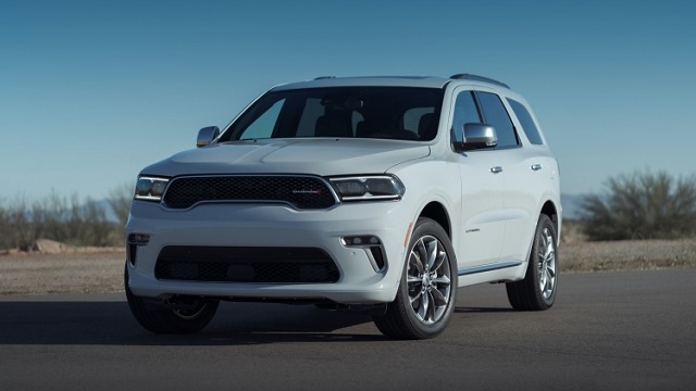 2022 Dodge Durango changes
