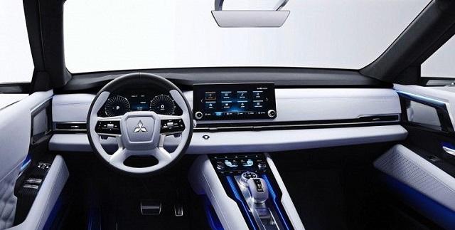 2022 Mitsubishi Outlander Interior Render
