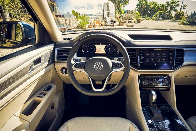 2022 VW Atlas Interior