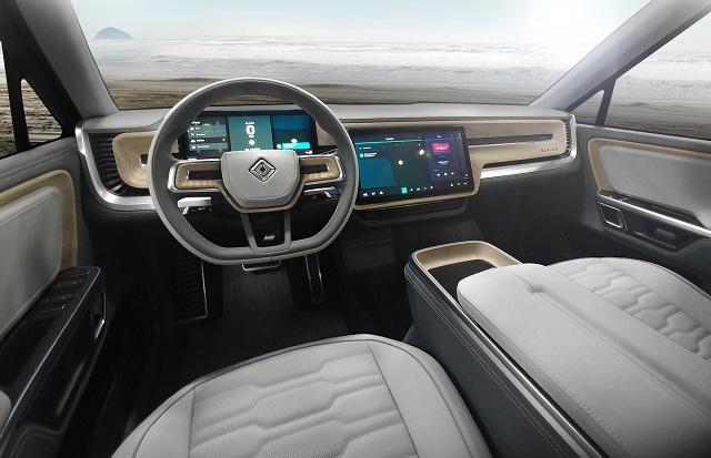 2022 Rivian R1S Interior