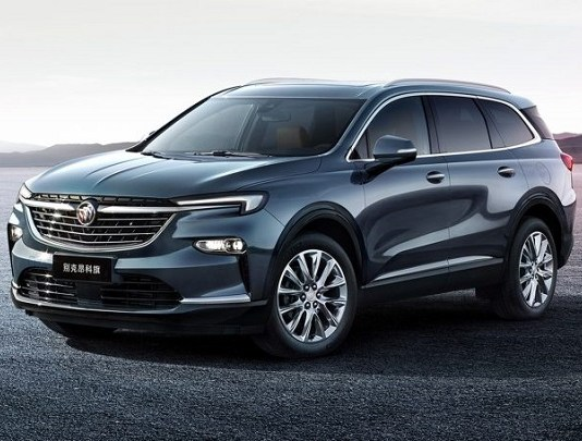 2022 Buick Enclave China